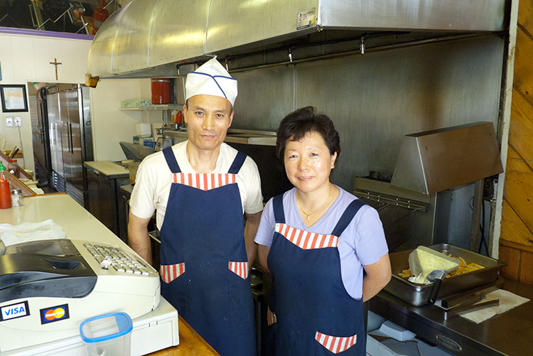 Owners John and Grace Im, San Leandro's cheese steak ambassadors.